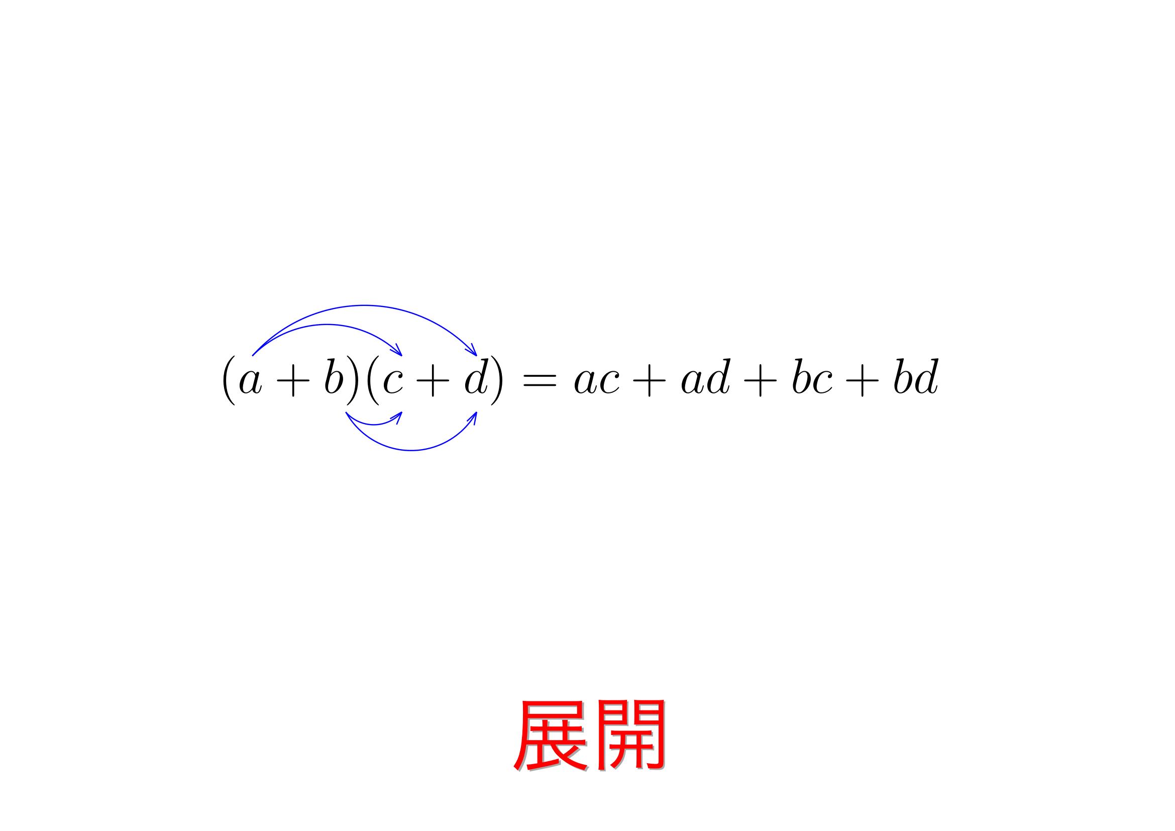 展開公式と主な出題パターンと解き方 | おいしい数学